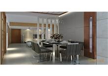 碧园大城小院三房一厅96㎡现代简约风格装修效果图