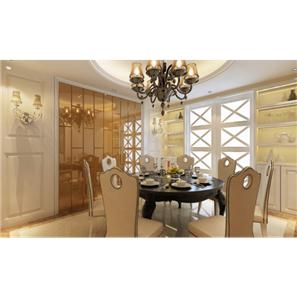颐和家园四房两厅140㎡地中海风格装修效果图