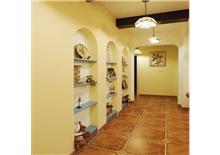 盛世中华两房一厅70㎡地中海风情装修效果图