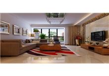 山语城两房一厅70平米中式装修风格效果图(一)