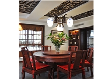 山语城三房一厅95㎡中式风格装修效果图
