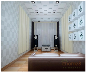 中央美地音乐室卫生间装修效果图