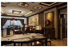 金色世纪客厅餐厅田园风格装修效果图