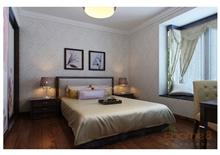 金色世纪卧室书房田园风格装修效果图
