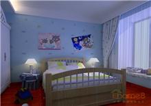 和谐家园卧室色调效果图