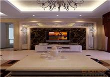 和谐家园76平米客厅装修效果图