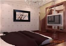 康城美式卧室效果图