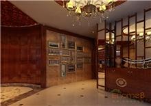 柳州桃源居豪华跃层客厅装修效果图