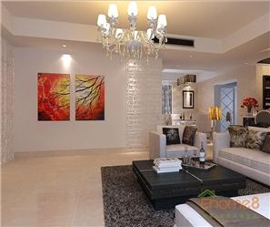 碧园大城小院跃层客厅现代简约风格装修效果图
