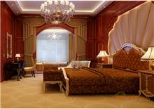 金秀华东大酒店豪华客房装修效果图