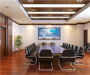 欧式气派办公会议室装修效果图