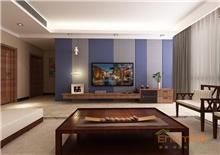 书香园两房一厅77平米现代简约风格装修效果图