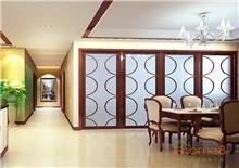 书香园两房一厅78㎡田园风格装修效果图