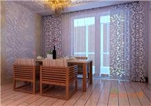 康城65㎡两房一厅现代简约风格装修效果图