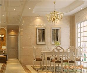桃源居73㎡两房一厅欧式风格装修效果图