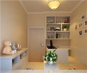 桃源居73㎡两房一厅美式风格书房装修效果图