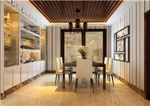 天鹅湖93㎡三房一厅欧式风格装修效果图