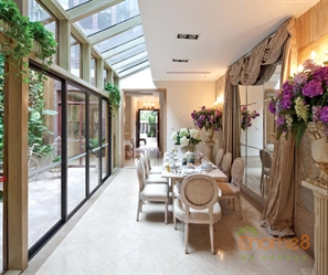 大城小院227㎡别墅欧洲花园风格装修效果图
