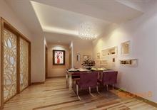 金色世纪63㎡两房一厅现代简约风格装修效果图