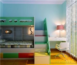 绿城96㎡三房一厅法式风格装修效果图