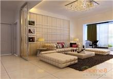 四季花城 71㎡两房一厅现代风格装修效果图
