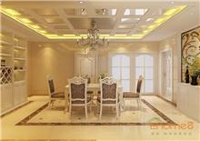 中央美地72㎡两房一厅欧洲风格装修效果图