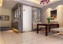 中央美地76㎡两房一厅美式风格装修效果图