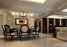 山语城98㎡三房一厅欧式风格装修效果图