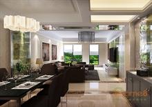 阳光100 69㎡两房一厅田园风格装修效果图