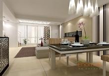 山语城132㎡四房一厅欧式风格装修效果图