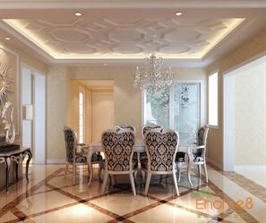 星星港湾-105㎡三房一厅-简欧风格装修装饰