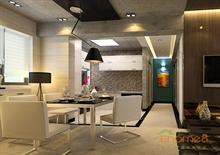 盛世中华-65㎡两房一厅-创意装修效果图