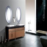 欧必德集成电热水器/玫瑰庄园系列3D速热热水器浴室柜2合1