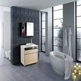 欧必德集成电热水器/香槟金系列3D速热热水器浴室柜2合1