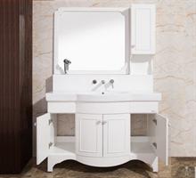 正品安华卫浴落地浴室柜超大储物空间抽拉式龙头