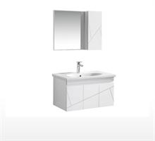 安华正品卫浴  浴室柜挂墙洗手台盆组合柜(限10套)