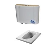 英皇卫浴水箱水箱OS204 蹲便HTC3780