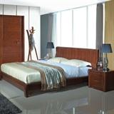 实木床+实木衣柜