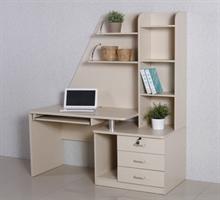 电脑桌带书柜系列