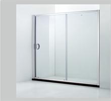 朗斯 钢化玻璃 屏风 隔断 一字型淋浴房 雷蒙P21