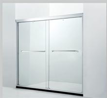 朗斯推拉式淋浴房 整体定制浴室隔断 诺曼P22