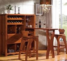 御林一品 餐厅家具吧台