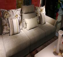 新款斯可馨 实木框架全拆洗组合转角布艺沙发6030