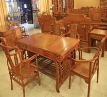 雅室红木家具  茶台(5+1)