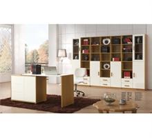安卡时尚 沃红达板木系列 组合书柜