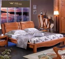 南粤名品 高档花梨木床纯实木床双人1.8米床