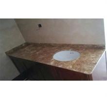五洋石材 金啡洗手台面