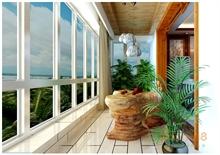 东南亚风情阳台装修图片