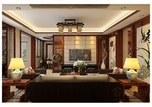 大美天第中式客厅装修美图