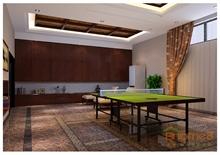 大美天第休息间乒乓球室装修效果图